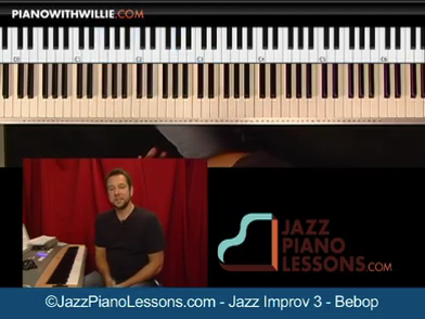 Jazz Piano Improvisation Volume 3 (bebop)
