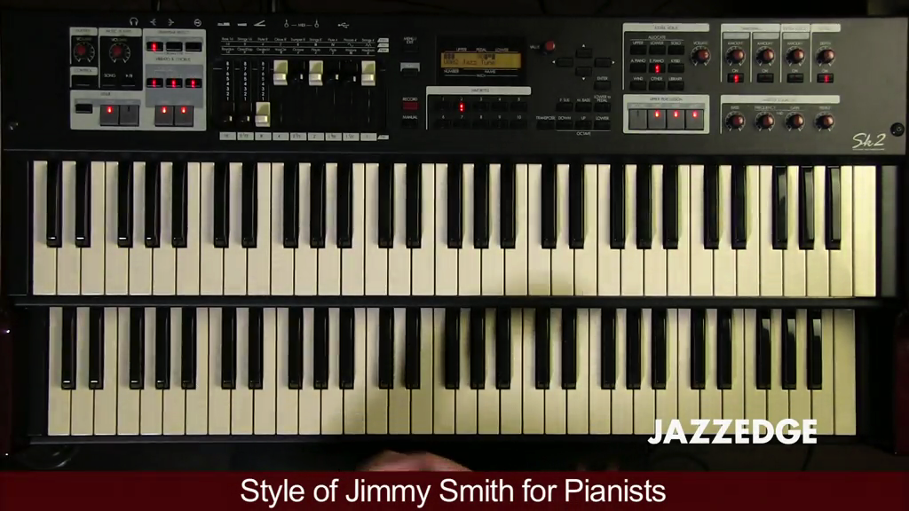 Style of Jimmy Smith for Pianists