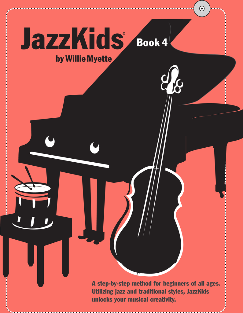 JazzKids Book 4 - Digital Download (Individual Use)