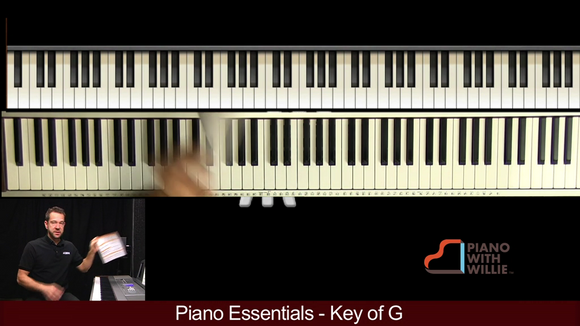 Piano Essentials Key of G