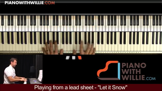 Playing From A Lead Sheet – Let It Snow