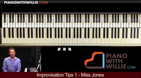 Improvisation Tips #1 – Have You Met Miss Jones