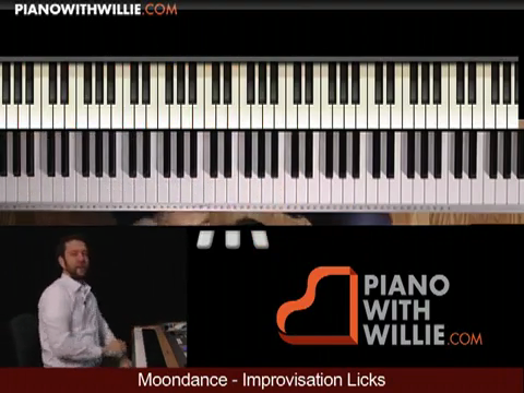 Moondance – Improvisation – Rock Piano