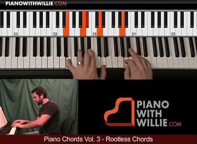 Piano Chords Vol. 3 (Rootless Chord Voicings)