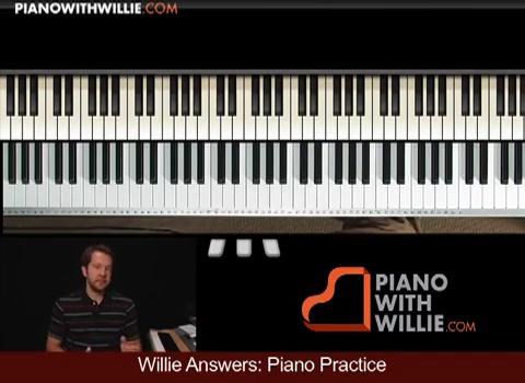 Willie Answers: Practicing the piano