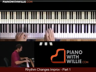Rhythm Changes Improvisation