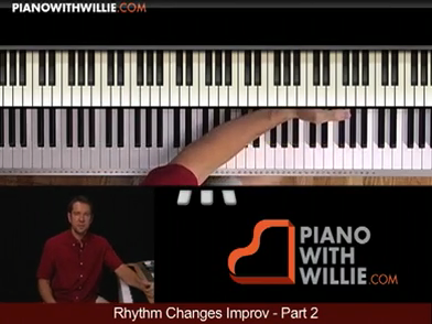 Rhythm Changes Improvisation pt 2