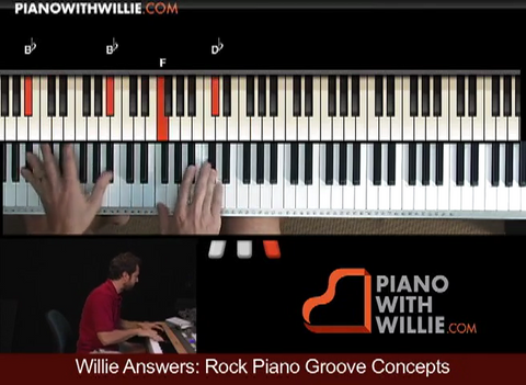 Willie Answers: Rock Groove Concepts