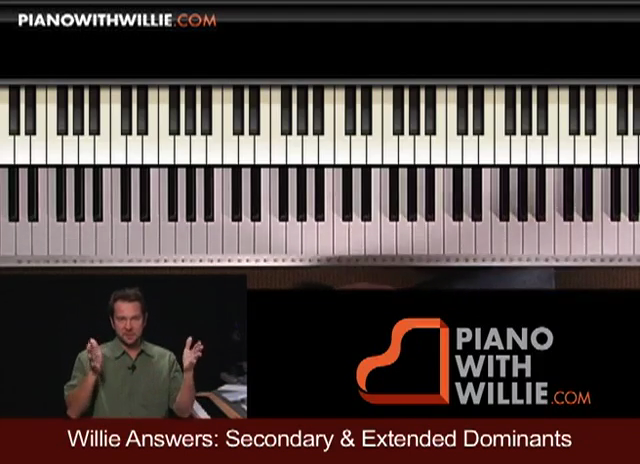 Willie Answers: Secondary and Extended Dominants