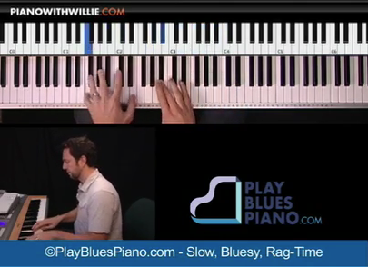 Slow Bluesy Ragtime
