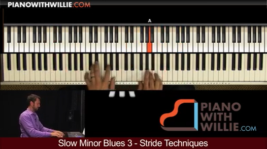 Slow Minor Blues, Vol. 3 (Stride)