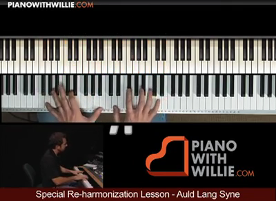 Special Reharmonization – Auld Lang Syne