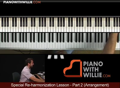 Special Reharmonization – Part 2 – Arrangement