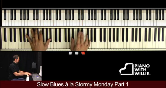 Slow Blues a la Stormy Monday Part 1