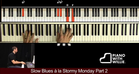 Slow Blues a la Stormy Monday Part 2