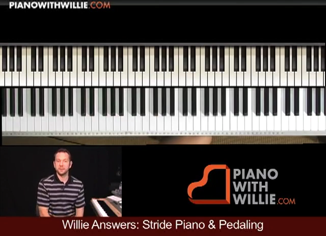 Willie Answers: Stride Piano & Pedaling Techniques