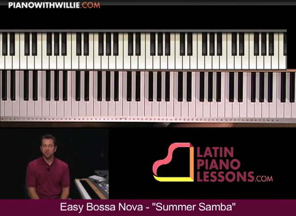 Easy Bossa Nova Piano – Summer Samba