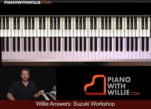 Willie Answers: Suzuki Workshop