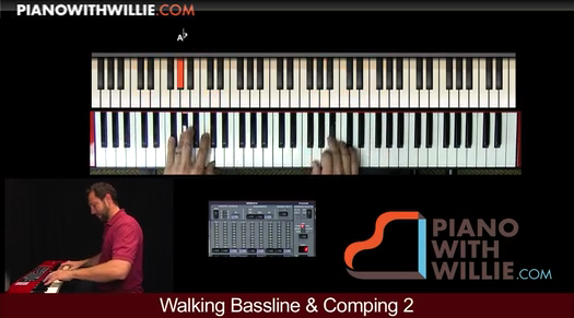 Walking Bassline And Comping 2