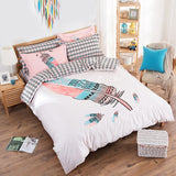 Bohemian Feather Bedding Set | 99sheets