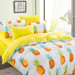 Pineapple Print Bedding Set | 99sheets