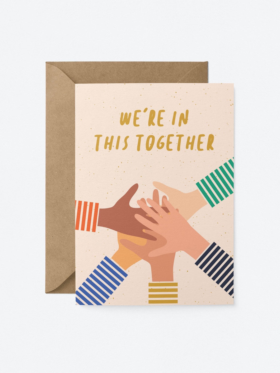 We're in This Together Card
