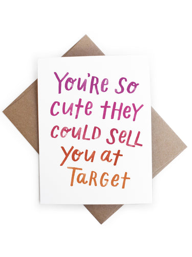 So Cute Target Card