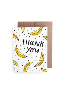 Thank You Bananas Card