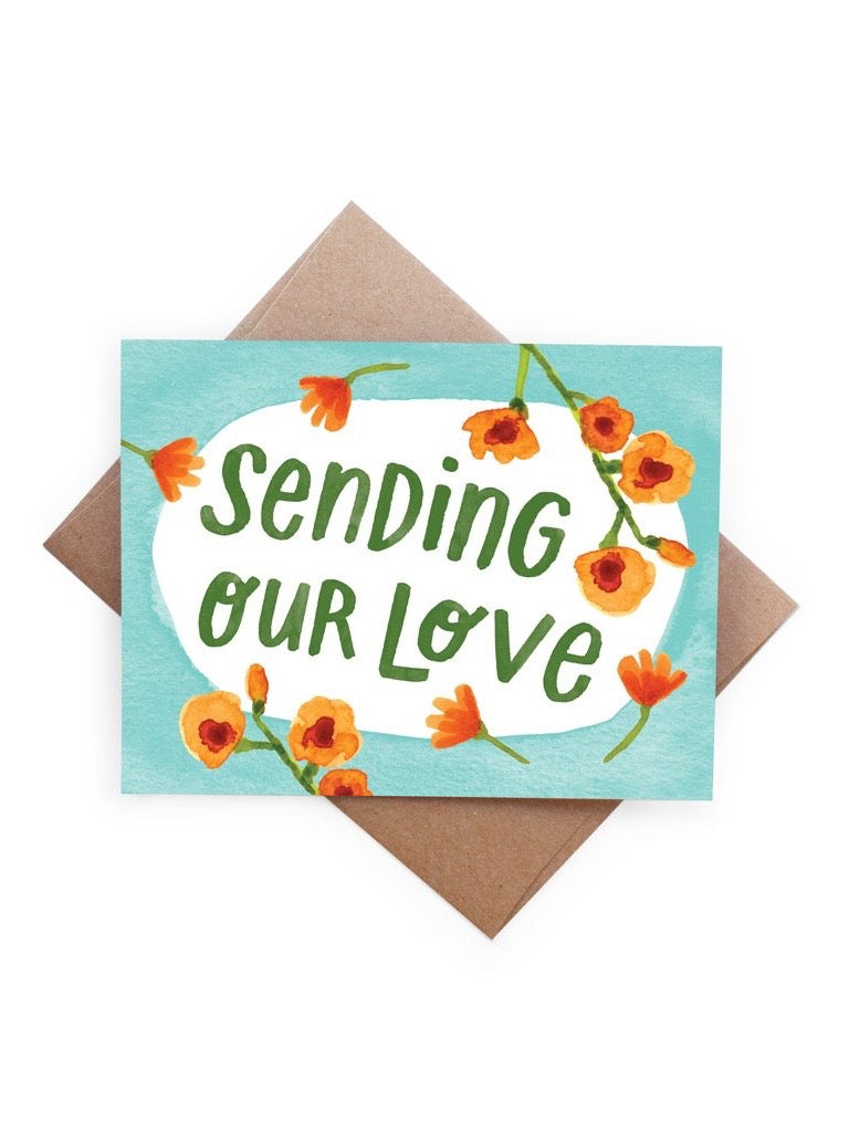 Sending Our Love Card