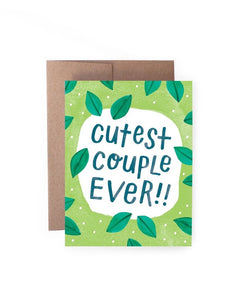 Cutest Couple Ever Card