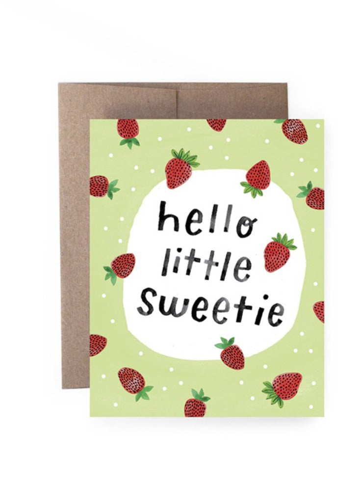 Hello Little Sweetie Card