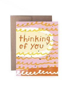 Thinking Of You Doodle Card