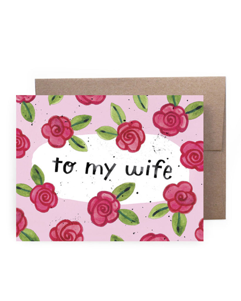 To My Wife Card