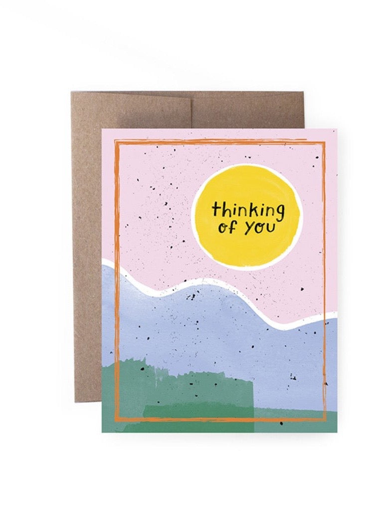 Thinking Of You Sun Card