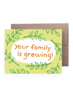 Growing Family Card