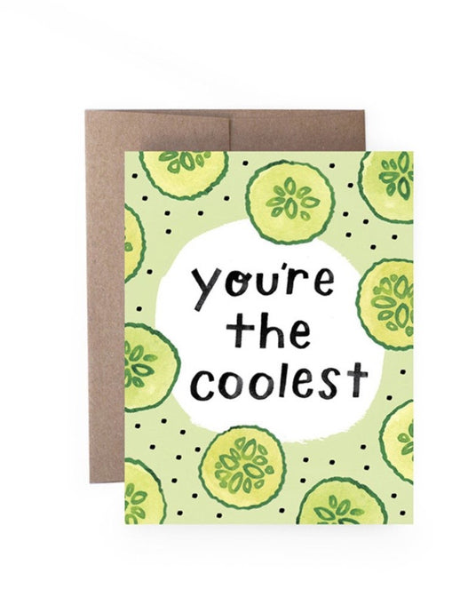 Coolest Cucumber Card