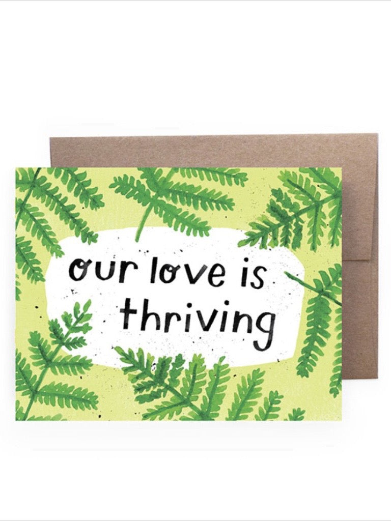Thriving Love Card