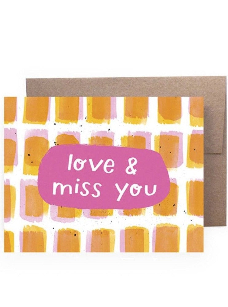 Love & Miss You Card