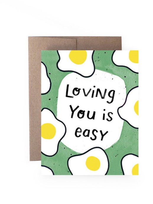 Loving You Is Easy Card