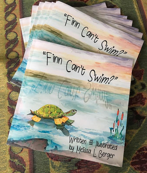 """Finn Can't Swim?"" Children's Book"