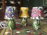Hand-Painted Lamps & Shades