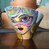 """Maidens & Masquerades"": New Faces Bowl Collection (Large)"