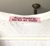 The Artful Woman: Hand-Painted Women's Tee Shirt Collection