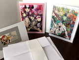 "Meli's Original Art Studio 5"" x 7"" GREETING Cards: SET of 2"