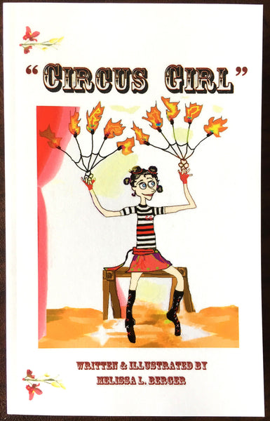 """Circus Girl"" Children's Book"