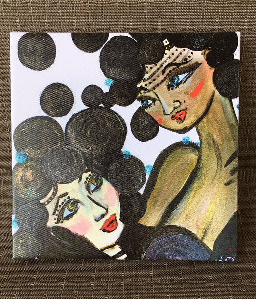 "8"" x 8"" Canvas PRINTS - Women's Performers Series"