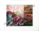 "Matted Print : ""HELP Wanted"""