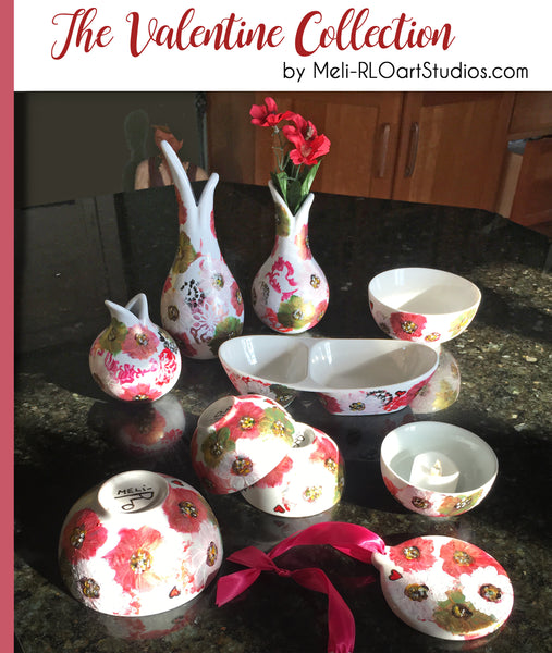 NEW Valentine Porcelain Collection!