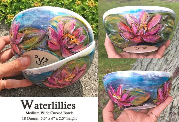 Waterlillys: The Porcelain Bowl