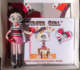 """Circus Girl"" SET #1 - BOOK with Handmade ART DOLL!"